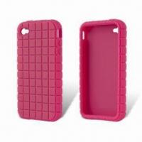 Quality Silicone Case for Apple's iPhone 4, Protects Full Back and Side from Scratches for sale