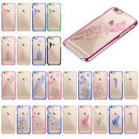 Wholesale Butterfly Spirit Design iPhone Protective Case electroplating PC Hard Pack from china suppliers