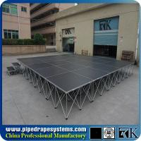 Quality On sale China factory price portable stage with aluminum riser for sale