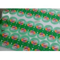 Quality Security Food Grade Jelly Cup Sealing Film , Heat Sealing Plastic Sheeting for sale