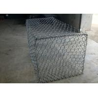 Wholesale 2.0mm Seal Gabion Retaining Wall With PVC Coated Wire For Coast from china suppliers