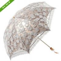 Wholesale NWT Women Lace Princess folding Anti-UV Parasol Umbrella for Sun protection from china suppliers