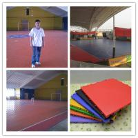 Wholesale High Grade Plastic Futsal Flooring , Eco Friendly Rubber Sport Flooring from china suppliers