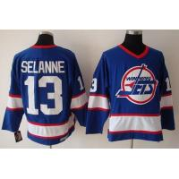 Wholesale New York Jets # 13 Selanne blue from china suppliers