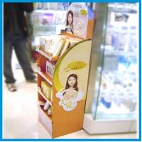 Wholesale Lotion Cardboard Floor Shelf Display from china suppliers