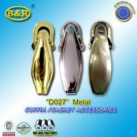 Wholesale Ref No D027 metal casket hinges metal casket hardware herrajes de Ataudes Size 4.5*10.5cm from china suppliers