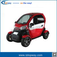 Wholesale electric vehicle 4 wheels mini car electric for adults passengers with mp3 from china suppliers