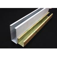 Wholesale White Metal U-aluminum Profile Screen Ceiling , Hanging Ceiling Tiles from china suppliers