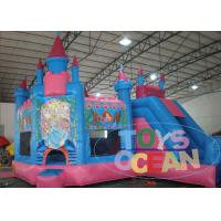 Wholesale Funny 5 in1 Giant Princess Castle 	Inflatable Bouncer Combo For Children Park from china suppliers