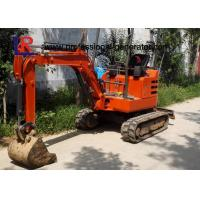 Buy cheap 1800kgs Walk Behind Mini Excavator with Cabin / Full Hydraulic Digging Machine from wholesalers
