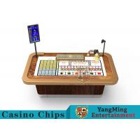 China Automatically SIC BO DICE Gambling Table Baccarat System With 24HD Display on sale