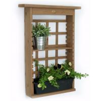 Wholesale Contemporary Decorative Outdoor Furniture Plant Wall Shelf Modern Shelving Unit from china suppliers