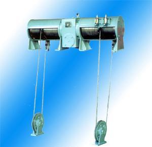 China Double Hook Wirerope Hoist on sale