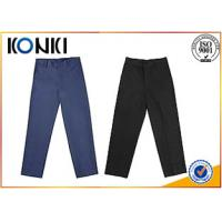 Wholesale Anti - Wrinkle Custom Pants , Black Boys School Uniform Pants from china suppliers