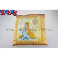Wholesale Personalized Cushions Plush Soft Spirit Yellow Kids Pillows from china suppliers