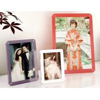 Wholesale colorful acrylic photo frames from china suppliers