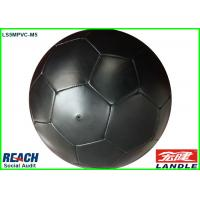 Wholesale Black PVC Leather Soccer Balls / Adult Size Soccer Ball Customizable from china suppliers