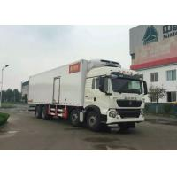 Wholesale 8×4 Refrigerated Trucks And Vans SINOTRUK HOWO 40 Ton For Carrying Frozen Foods from china suppliers