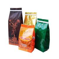 Wholesale Bottom Gusset Matt Mylar Snack Bag Packaging Aluminum Foil Coffee Bags With Valve from china suppliers