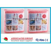 Wholesale Food Grade Non Woven Wipes Cloth Wet Dry For Household Cleaning Tasks from china suppliers