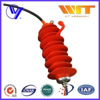 Wholesale 24KV Electrical Transmission Line Surge Arrester with Silicone Rubber Housing from china suppliers