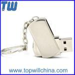 Wholesale Mini Metal Twister Pen Drives 2GB 4GB 8GB 16 GB 32GB Free Logo Printing from china suppliers