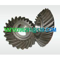 Wholesale Custom Carbon Steel Helical Bevel Gear , Spiral Bevel Miter Gear Forged from china suppliers