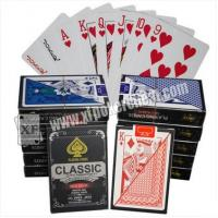 Wholesale Magic Tool Marked Classic Plastic Playing Poker Cards For Analyzer Gamble Cheat Device from china suppliers