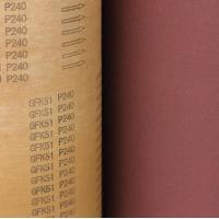 Wholesale Aluminum oxide abrasive for making sanding belts Compact polyester abrasive cloth rolls for metal polishing from china suppliers