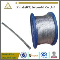 Wholesale Galvanized Steel Wire Rope for Control Cable from china suppliers