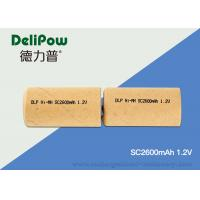 Wholesale Industrial Aa Batteries SC2600mAh , OEM Rechargeable 1.2 Volt Batteries from china suppliers