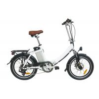 "Wholesale Kids 20"" Folding Electric Bicycle / Battery Powered Bike Eco Friendly from china suppliers"