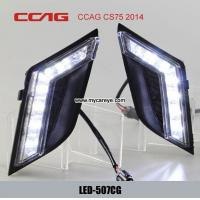 Wholesale CCAG CS75 2014 DRL LED Daytime Running Lights Carbody parts upgrade from china suppliers