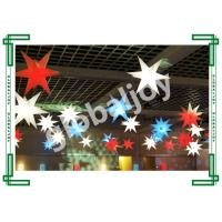Wholesale Hanging Inflatable Star With Rgb Led Light For Wedding Decoration from china suppliers