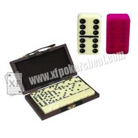 Wholesale Yellow Double Six Dominoes Mark For Poker cheat in cards game from china suppliers