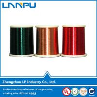 Wholesale Double Layer Fibre Enameled Copper Clad Wire for Electrical Material from china suppliers