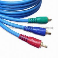 Wholesale Audio Interconnect Cable with RCA, PAL, SCART, DIN, and MINI DIN Plug Connector to Wiring Assembly from china suppliers