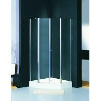 Wholesale Corner Glass Shower Enclosure 1000 X 1000 Square Shower Stall Pivot Door from china suppliers