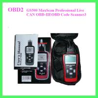 Wholesale GS500 MaxScan Professional Live CAN OBD-IIEOBD Code Scanner3 from china suppliers
