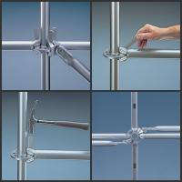 Buy cheap Heavy Duty Construction Ringlock system Scaffolding be widle used  in construction/Industrial maintaince from wholesalers