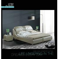 Wholesale J037,leather bed, living room home furniture,KD furniture from china suppliers