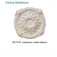 Wholesale Hot Sale Decorative PU Ceiling Medallions for modern decoration from china suppliers