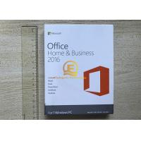 Wholesale Genuine Office 2016 Home And Business Mac OEM For Windows Retail 64 Bit from china suppliers