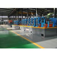 Buy cheap HF Automatic Steel Pipe Making Machine , SS Tube Mill 21 - 63mm Dia from wholesalers