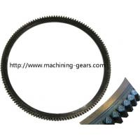 Quality Automobile Carbon Steel/Alloy Steel Gear Ring , Truck Parts Engine Ring Gear for sale