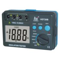 Wholesale intelligent Insulation Resistance Meter HDT20B manual Anti - interference from china suppliers