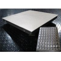 Wholesale Non-bubble Raised Floor Tiles , Data Center Raised Floor Dustproof  With AntiStatic HPL from china suppliers