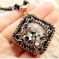 Wholesale Many Choice for You Opal Long Sweater Chain Accessories Pendant Necklace from china suppliers