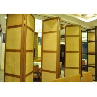 Wholesale Folding Hanging Sliding Door , 65mm Training Room Folding Partition from china suppliers