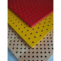 Buy cheap Wooden Perforated Acoustic panel from wholesalers